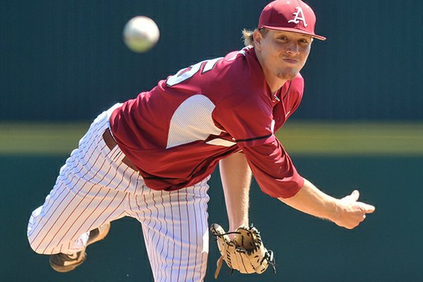 Ryne Stanek has allowed 6 earned runs and struck out 20 batters in 33 1/3 career innings of NCAA postseason play. Arkansas is 5-0 in games he has started.