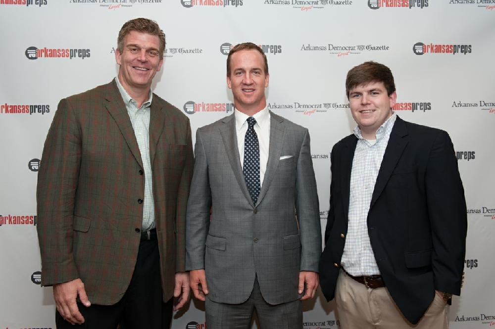 2012 2013 all arkansas preps vip meet and greet with peyton manning manning will also speak to the 1200 in attendance keith jackson a native arkansan and former nfl star will emcee the event m4hsunfo