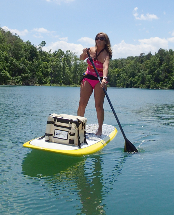 One paddle two feet nwadg for Sup fishing board