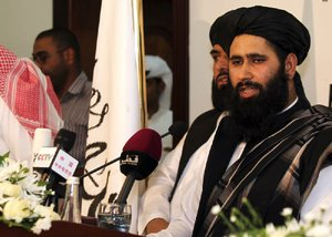 U.S. sets talks with Taliban