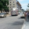 Several buildings at the University of Arkansas were evacuated Wednesday morning because of a possib...