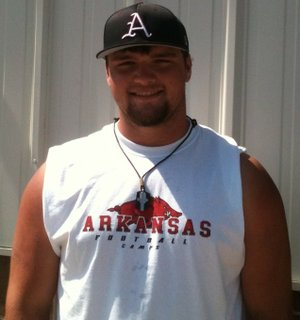 Star City defensive tackle Austin Capps has offers from Arkansas and Louisville.