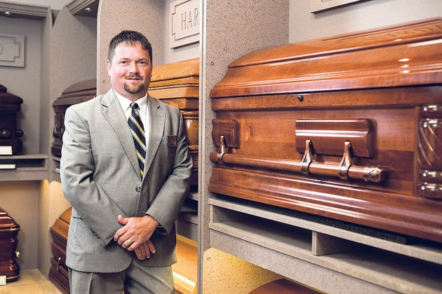 tyler-hyatt-general-manager-of-powell-funeral-home-in-bald-knob-was-recently-honored-at-the-arkansas-funeral-directors-associations-annual-convention-in-bentonville-for-his-leadership-and-dedication-to-the-funeral-profession-hyatt-has-been-a-funeral-director-for-20-years