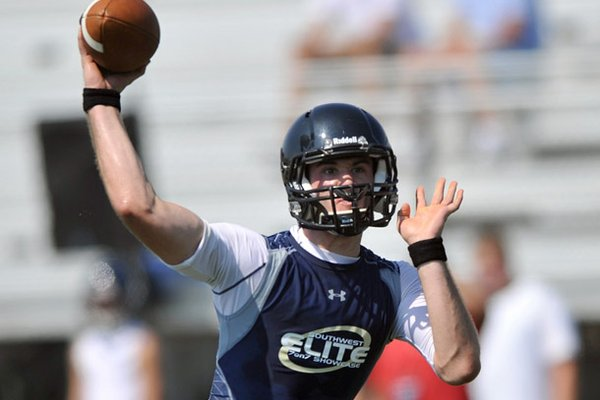Highly regarded Charleston quarterback Ty Storey is an Arkansas commitment.