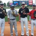 For Garrett Kaufman, left, Chris Scroggins and Zach McKnight, all of Bentonville, along with Zac Ste...