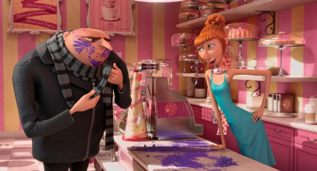 gru-steve-carell-tries-to-work-with-his-new-partner-lucy-kristen-wiig-in-despicable-me-2-the-fi-lm-beat-the-lone-ranger-to-take-the-top-spot-at-last-weekends-box-office-and-made-more-than-143-million-in-five-days