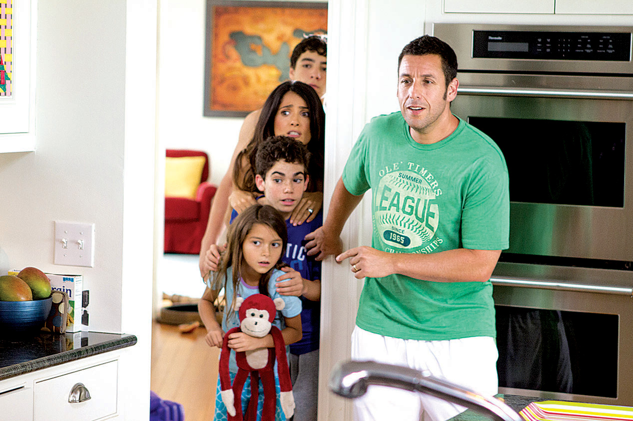 Adam Sandler is back with his crew of arrested adolescents ...