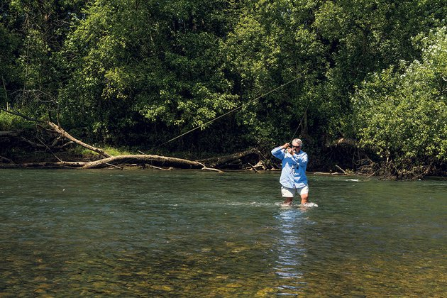 fish on little red river draws anglers from across the