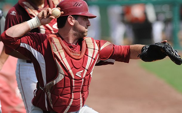 Arkansas catcher Jake Wise had Tommy John surgery following the 2013 season.