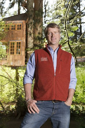 Pete Nelson is the host of Animal Planet's fun series, Treehouse Masters. Friday's episode at 9 p.m. is a back-to-basics offering for a family with special-needs kids.