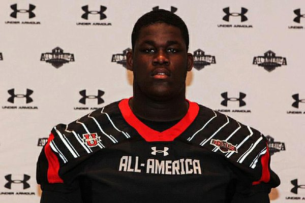 Offensive lineman Denver Kirkland signed with Arkansas over Florida State and Miami. He said Arkansas linebackers coach Randy Shannon was key in his recruitment.