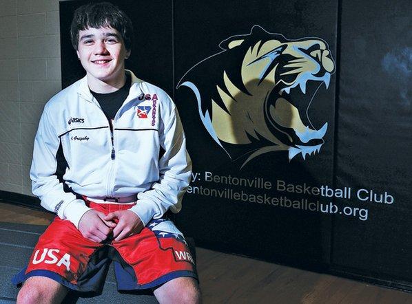Aaron Grigsby, 16, of Bentonville ...