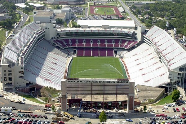 Fayetteville Donald W Reynolds Razorback Stadium