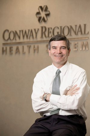 Steve Rose, chief financial officer of the Conway Regional Health System, started his career with a large CPA firm, but he transitioned to hospital finance soon after his wife had their first daughter. Rose started in August 1990 at Conway Regional and said its facilities and services have grown with the city.