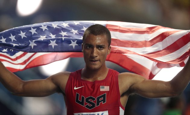 united-states-ashton-eaton-celebrates-on-sunday-after-winning-gold-following-the-mens-1500-meter-decathlon-at-the-world-athletics-championships-in-the-luzhniki-stadium-in-moscow-russia-ap-photoivan-sekretarev