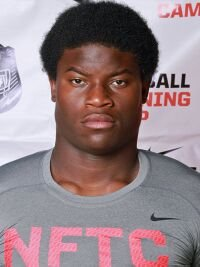 Defensive end Kevin Bronson plans to officially visit the Hogs.