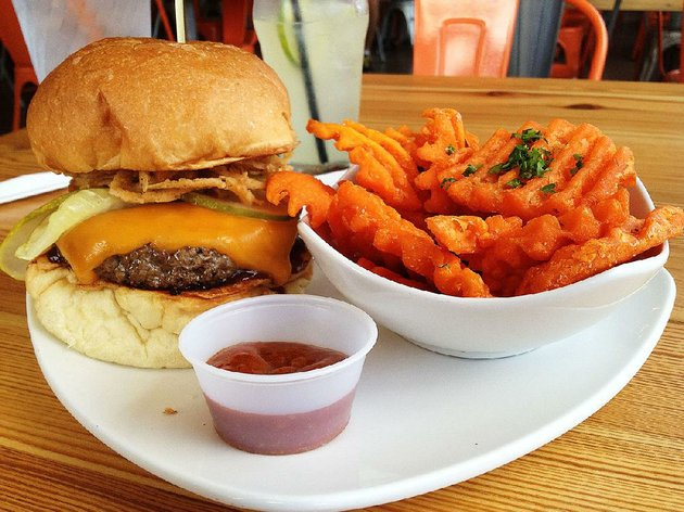 big-orange-midtowns-hickory-smoke-burger-piles-high-we-got-ours-with-a-la-carte-sweet-potato-fries-and-mango-curry-ketchup