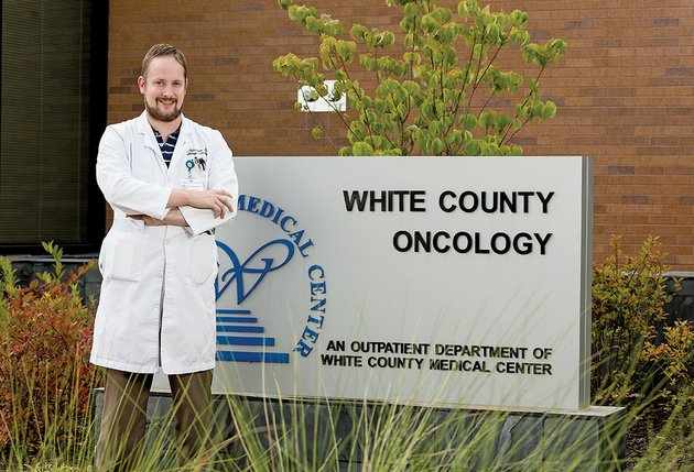 dr-whit-robertson-is-the-newest-medical-oncologist-to-join-white-county-oncology-he-is-a-cancer-survivor-who-was-diagnosed-with-a-brain-tumor-while-in-medical-school-and-was-treated-by-his-current-co-workers