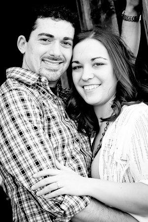 Ryan Payne and Katie Etris