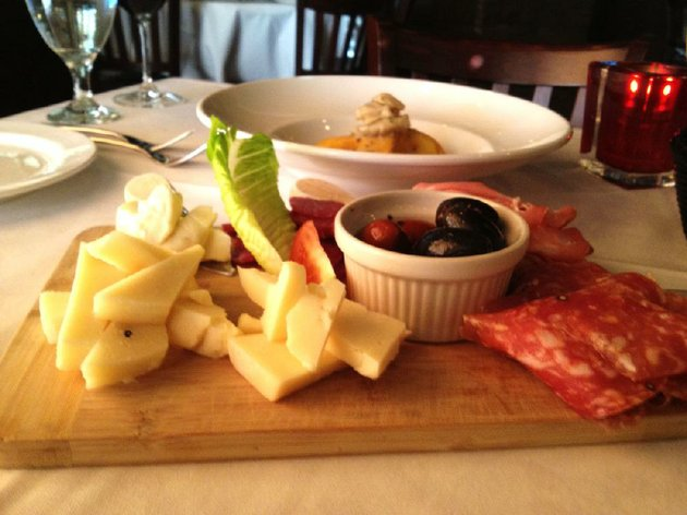 the-chefs-choice-antipasto-three-meats-three-cheeses-and-a-plate-of-assorted-olives-carries-a-pretty-high-price-tag