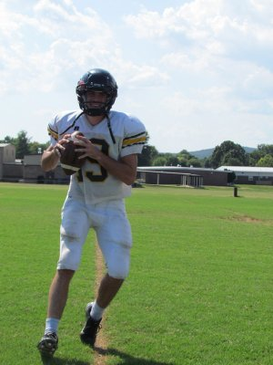 Senior Jacob Storilie will take over at quarterback this season for Prairie Grove. Storlie replaces Cooper Winters, a three-year starter for the Tigers