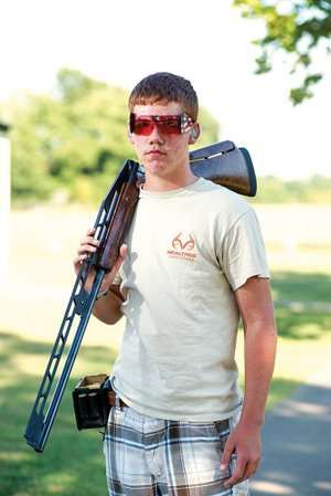 John Riley Wiens, a 13-year-old trap shooter from Cabot, recently won the sub-junior high overall at the Grand American World Trapshooting Championship in Sparta, Ill.