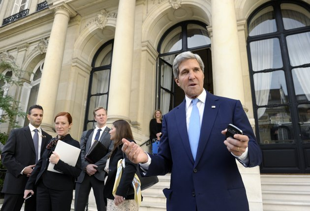 us-secretary-of-state-john-kerry-talks-with-reporters-at-the-united-states-embassy-in-paris-sunday-sept-8-2013-before-his-meeting-with-arab-league-representatives-ap-photosusan-walsh-pool