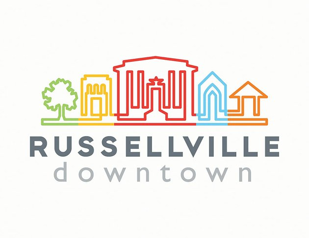 a-ceremony-to-unveil-the-new-russellville-downtown-logo-is-set-for-530-pm-friday