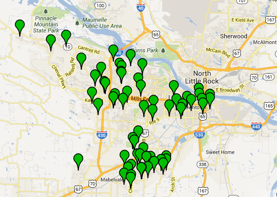 this-screenshot-from-the-little-rock-crime-map-shows-the-locations-of-63-residential-burglaries-reported-sept-6-through-thursday