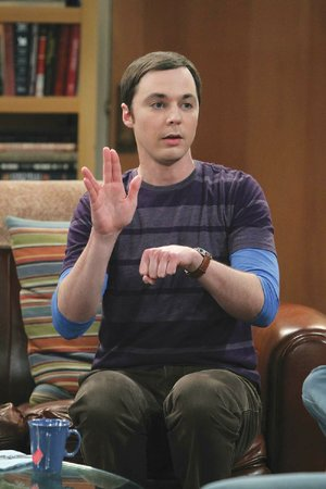 Jim Parsons stars as Sheldon Cooper on The Big Bang Theory.