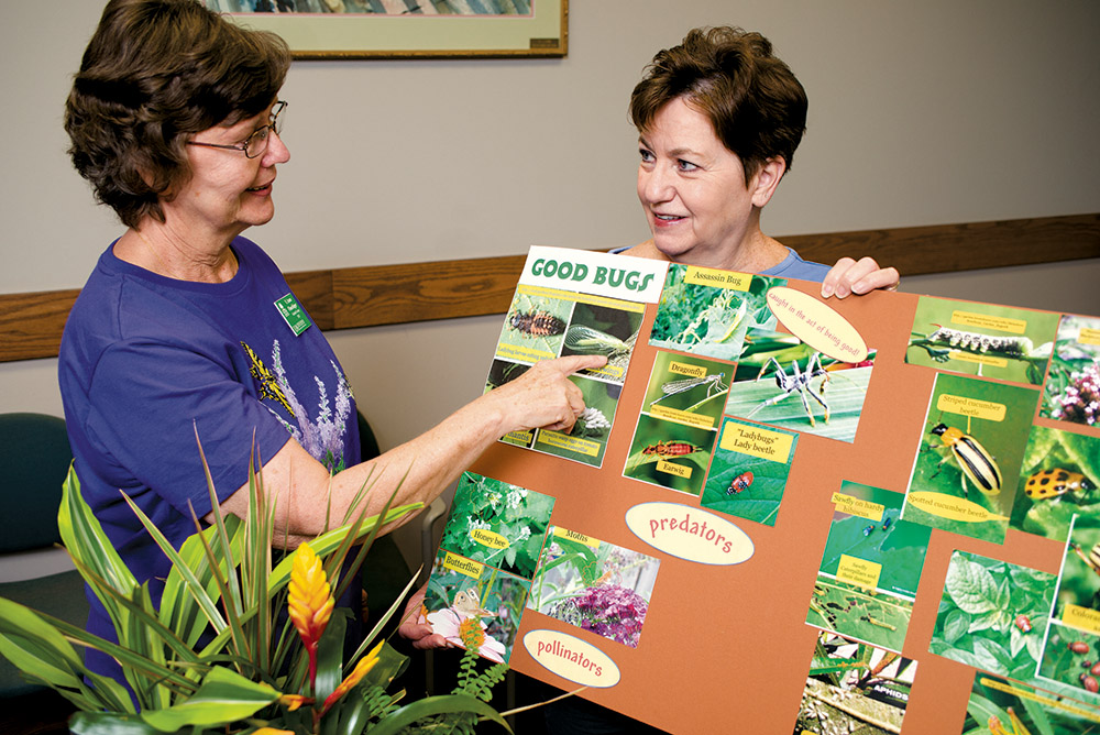 Master Gardeners Offer Classes Answers At Library