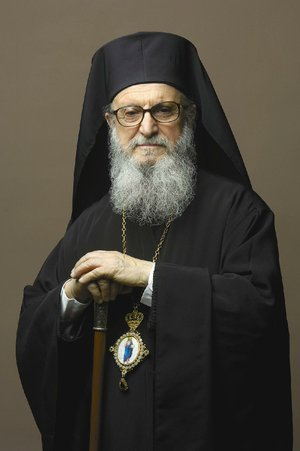 Archbishop Demetrios is visiting Little Rock for the centennial anniversary of Annunciation Greek Orthodox Church.