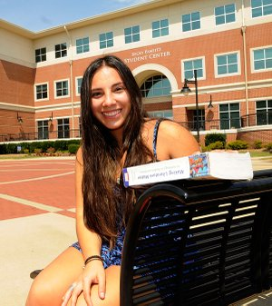 Costa Rica native Pamela Villegas is starting her education in the medical field at NorthWest Arkansas Community College. She lives in Bentonville.