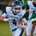 Greenwood's Hoyt Smith runs for yards during the Bulldogs' 47-7 win over Alma on Sept. 13, 2013.