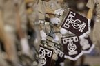 The Texas A&M band prepares to play during halftime of an NCAA college football game against Sam Houston State Saturday, Sept. 7, 2013, in College Station, Texas. (AP Photo/David J. Phillip)