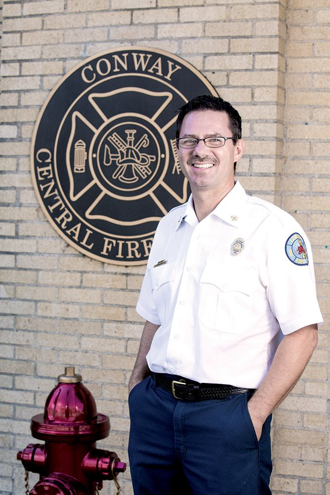 Conway man finds true calling as firefighter