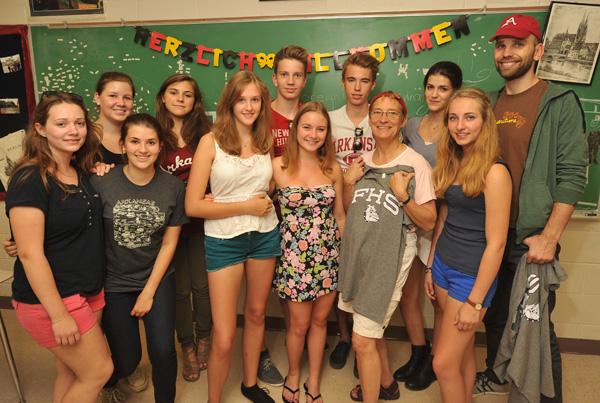 German teen life