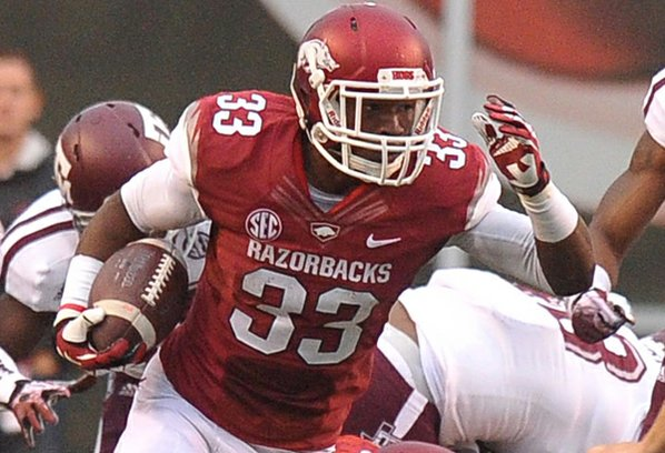 Arkansas freshman Korliss Marshall returns ...