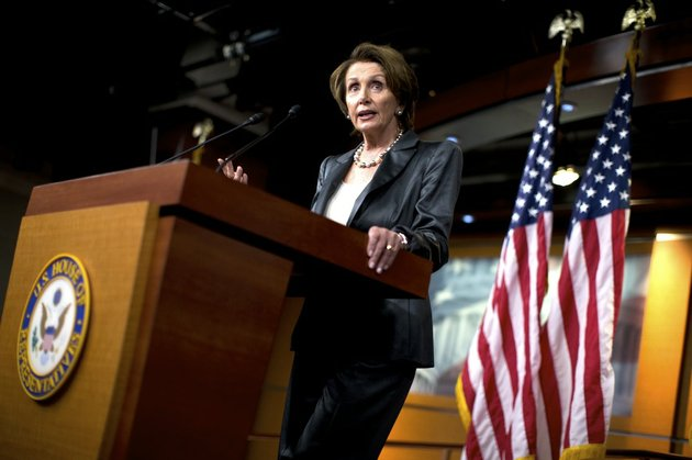 house-minority-leader-nancy-pelosi-of-calif-speaks-during-a-news-conference-about-the-ongoing-budget-fight-thursday-oct-3-2013-on-capitol-hill-in-washington