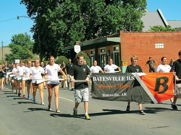 Batesville High Marching Band-T web