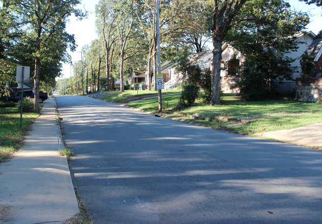 the-1500-block-of-south-harrison-street-is-pictured-wednesday-morning