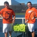 photo-PAUL BOYD-Brothers Robby (left) and Adam Herbert have come together this season to form a soli...