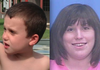Quinn Whitsitt, left, and his mother, Rainy Whitsitt, are pictured in these images released by authorities.