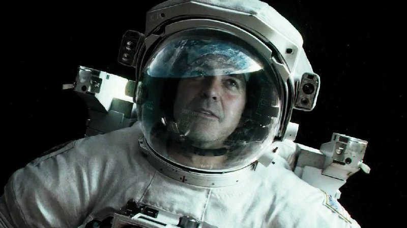 George Clooney Plays Veteran Astronaut Matt Kowalski In The Warner Bros Film Gravity It Came First At Last Weekends Box Office And Made About 56