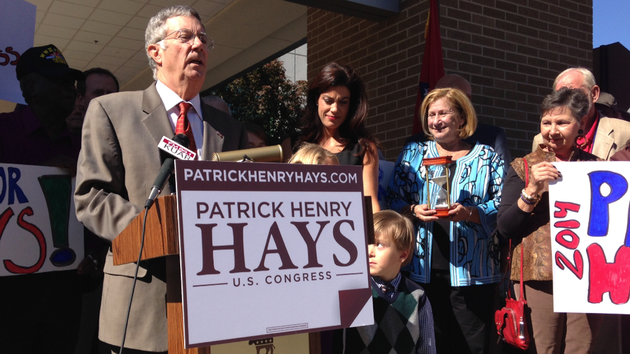 former-north-little-rock-mayor-patrick-henry-hays-announces-tuesday-oct-22-2013-his-candidacy-for-the-2nd-congressional-district-seat-at-a-tuesday-afternoon-news-conference