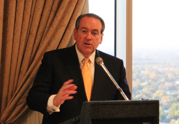 former-arkansas-gov-mike-huckabee-speaks-friday-to-the-political-animals-club-in-downtown-little-rock-huckabee-announced-wednesday-that-his-radio-program-the-mike-huckabee-show-will-sign-off-for-good-on-dec-12