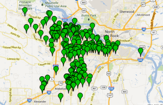 this-screenshot-from-the-little-rock-crime-map-shows-the-locations-of-215-residential-burglaries-reported-in-the-city-in-october