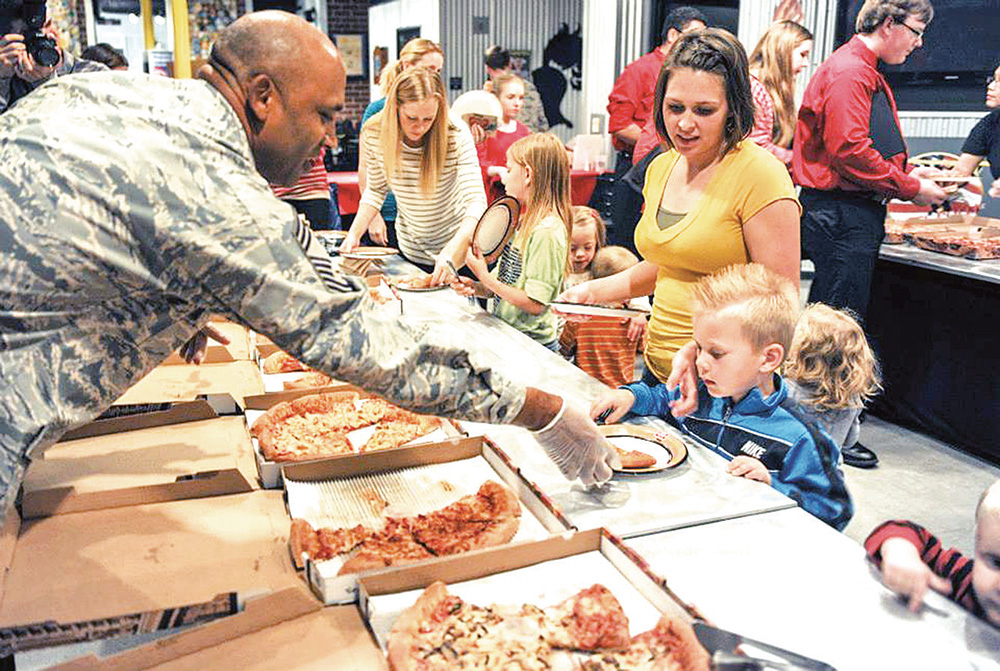 Little Rock Air Force Base shows support for families of