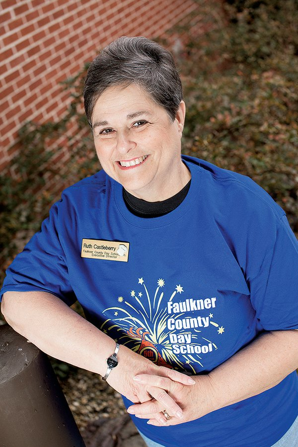 Ruth Castleberry: Faulkner County Day School Director