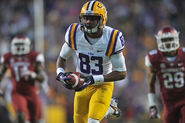 lsu-receiver-tarvin-dural-catches-the-go-ahead-49-yard-touchdown-pass-late-in-the-4th-quarter-against-arkansas-during-friday-afternoons-game-at-tiger-stadium-in-baton-rouge-la
